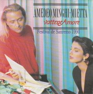 Amedeo Minghi / Mietta - Vattene Amore (Vinylsingle)