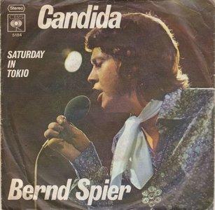 Bernd Spier - Candida + Saturday In Tokio (Vinylsingle)