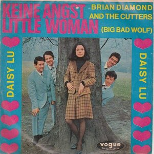 Brian Diamond and the Cutters - Keine angst little woman + Daisy Lu (Vinylsingle)