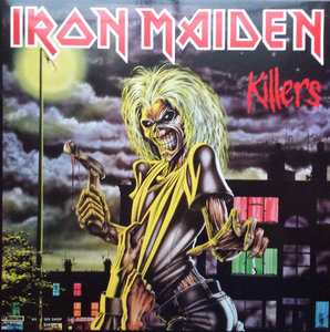 IRON MAIDEN - KILLERS (Vinyl LP)