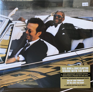 B.B. KING & ERIC CLAPTON - RIDING WITH THE KING -COLOURED- (Vinyl LP)