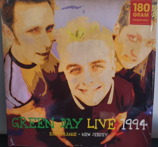 GREEN DAY - LIVE AT EAST ORANGE NEW JERSEY 1994 -COLOURED- (Vinyl LP)