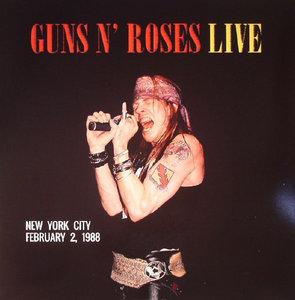 GUNS N' ROSES - LIVE IN NEW YORK CITY 1988 -COLOURED- (Vinyl LP)