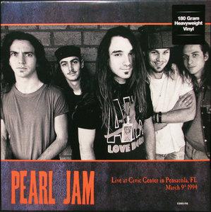 PEARL JAM - LIVE AT CIVIC CENTER IN PENSACOLA 1994 -COLOURED- (Vinyl LP)