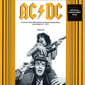 AC/DC - LIVE AT OLD WALDORF IN SAN FRANCISCO 1977 -COLOURED- (Vinyl LP)