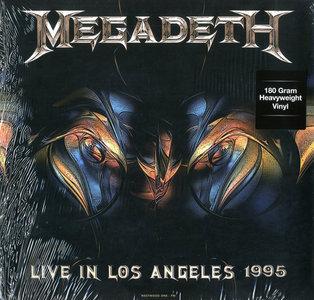 MEGADETH - LIVE IN LOS ANGELES 1995 -COLOURED- (Vinyl LP)