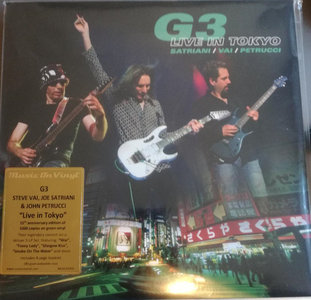 G3 (SATRIANI + VAI + PETRUCCI) - G3 LIVE IN TOKYO -COLOURED- (Vinyl LP)