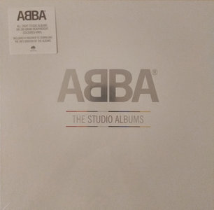 ABBA - THE STUDIO ALBUMS -COLOURED- (Vinyl LP)