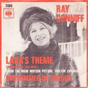 Ray Conniff - Lara's theme + Midsummer in Sweden (Vinylsingle)