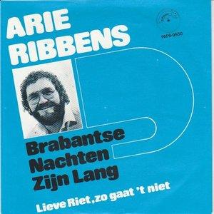 Arie Ribbens - Brabantse nachten zijn lang + Lieve Riet zo gaat het niet (Vinylsingle)