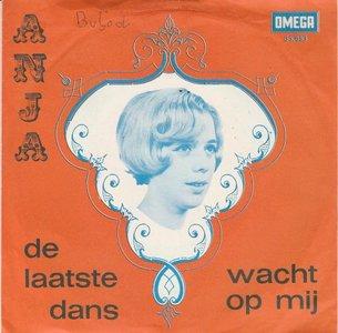 Anja - De laatste dans + Wacht op mij (Vinylsingle)