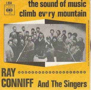 Ray Conniff - The sound of music + Climb ev'ry mountain (Vinylsingle)