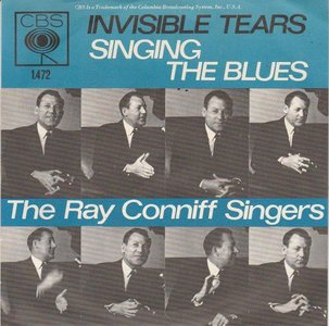 Ray Conniff - Singing The Blues + Invisible Tears (Vinylsingle)
