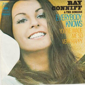 Ray Conniff - Everybody Knows + You've Made Me So Very Happy (Vinylsingle)