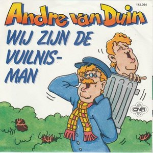 Andre van Duin - Wij zijn de vuilnisman + Hallo Hallee (Vinylsingle)