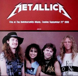 METALLICA - LIVE AT HAMMERSMITH 1986 -COLOURED- (Vinyl LP)