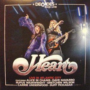 HEART - LIVE AT ATLANTIC CITY (Vinyl LP)