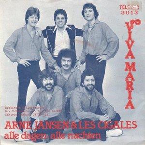Arne Jansen - Viva Maria + Alle dagen. alle nachten (Vinylsingle)