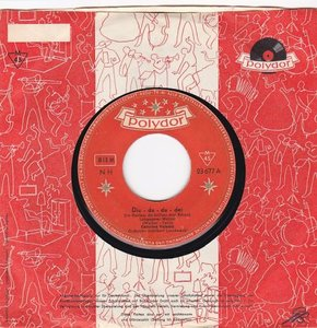 Caterina Valente - Diu du du dei + Tambourin (Vinylsingle)
