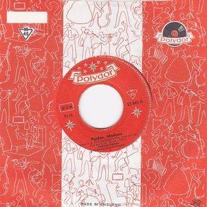 Caterina Valente - Pardon, Madame + Ein Bischen Pompadour (Vinylsingle)