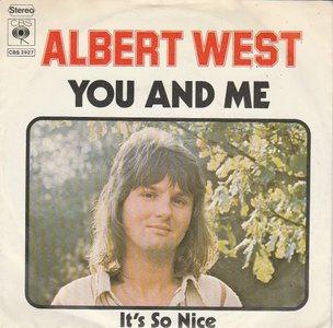 Albert West   - You and me + It's so nice (Vinylsingle)