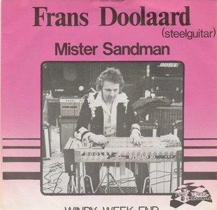 Frans Doolaard - Mister Sandman + Windy week-end (Vinylsingle)