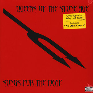 QUEENS OF THE STONE AGE - SONGS FOR THE DEAF (Vinyl LP)