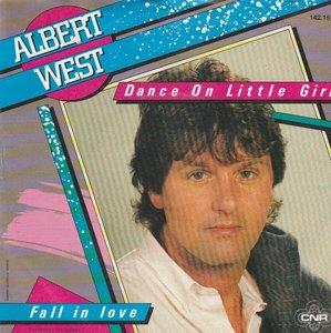 Albert West   - Dance on little girl + Fall in love (Vinylsingle)