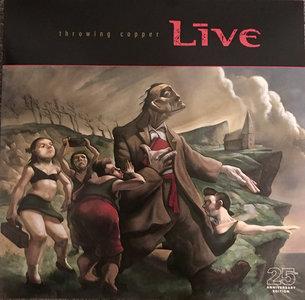 LIVE - THROWING COPPER (Vinyl LP)