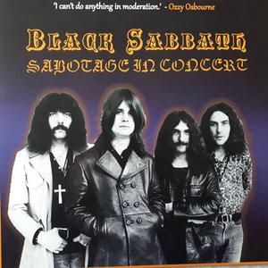 BLACK SABBATH - SABOTAGE IN CONCERT (Vinyl LP)