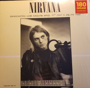 NIRVANA - Broadcasting Live KAOS-FM -COLOURED- (Vinyl LP)