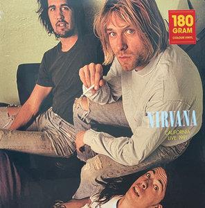 NIRVANA - California Live 1991 -COLOURED- (Vinyl LP)