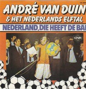 Andre van Duin - Nederland die heeft de bal + We gaan naar Rome (Vinylsingle)