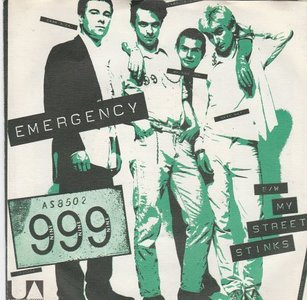 999 - Emergency + My Street Stinks (Vinylsingle)