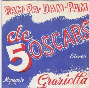 5 Oscars - Pampadampam + Graziella (Vinylsingle)