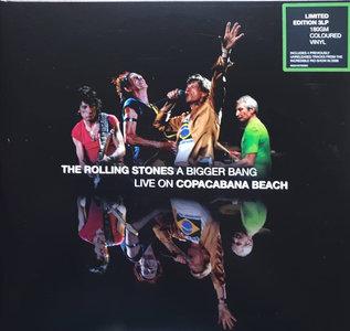 Rolling Stones - A BIGGER BANG LIVE ON COPACABANA BEACH -COLOURED- (Vinyl LP)