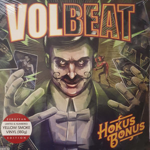 VOLBEAT - HOKUS BONUS -COLOURED- (Vinyl LP)