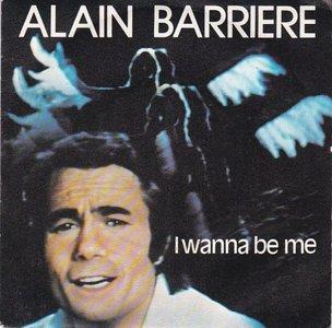 Alain Barriere - I Wanna Be Me + Automne (Vinylsingle)