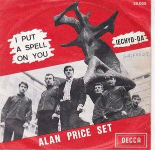 Alan Price - I put a spell on you + Iechda-da (Vinylsingle)