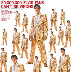 ELVIS PRESLEY - 50.000.000 ELVIS FANS CAN'T BE WRONG (Vinyl LP)