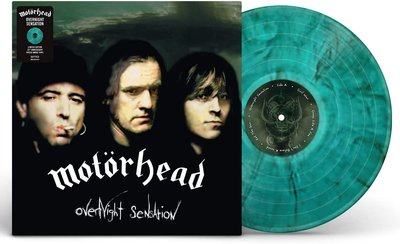 MOTORHEAD - OVERNIGHT SENSTION -COLOURED- (Vinyl LP)