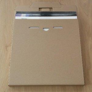 """Verzendkarton voor 12"""" LP's (4 tot 6 LP's) - per 10 stuks"""