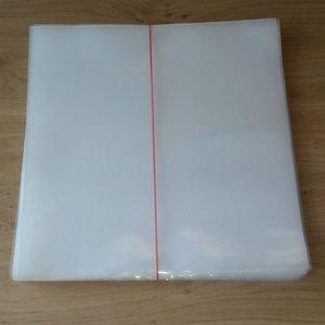 Zacht Plastic Beschermhoezen voor LP's, dikte 150 my - per 50 stuks