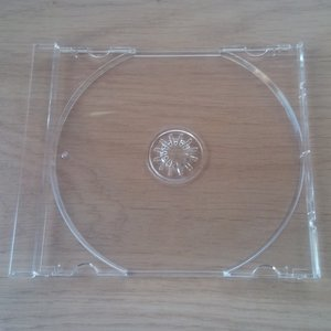 CD Inlay transparant - per stuk