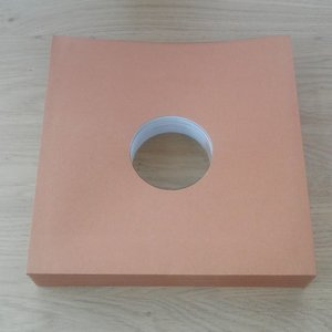 """Bruin Kartonnen hoezen voor 78toeren/10"""" platen - per 25 stuks"""