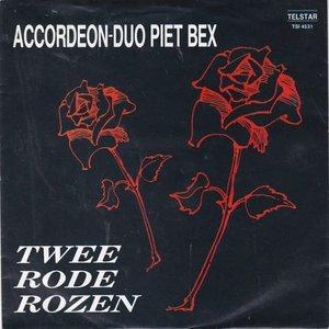 Accordeon Duo Piet Bex - Twee rode rozen + Jaqueline (Vinylsingle)