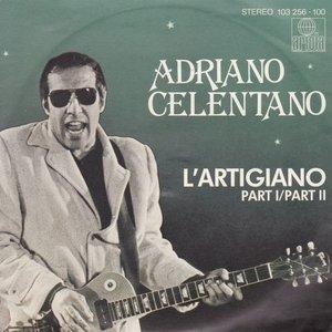 Adriano Celentano - L'Artigiano (Part I) + L'Artigiano (Part II) (Vinylsingle)