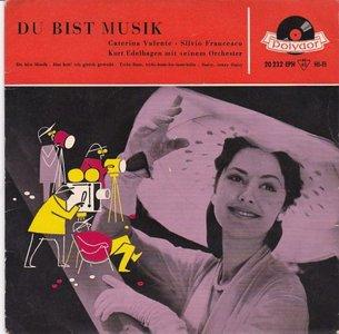 Caterina Valente - Du bist musik (Vinylsingle)