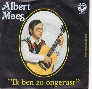 Albert Maes - Ik Weet Het Nu Niet + Ik Ben Zo Ongerust (Vinylsingle)