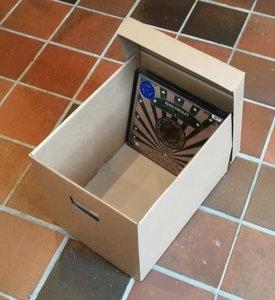"10"" Vinyl Box Karton - per stuk"